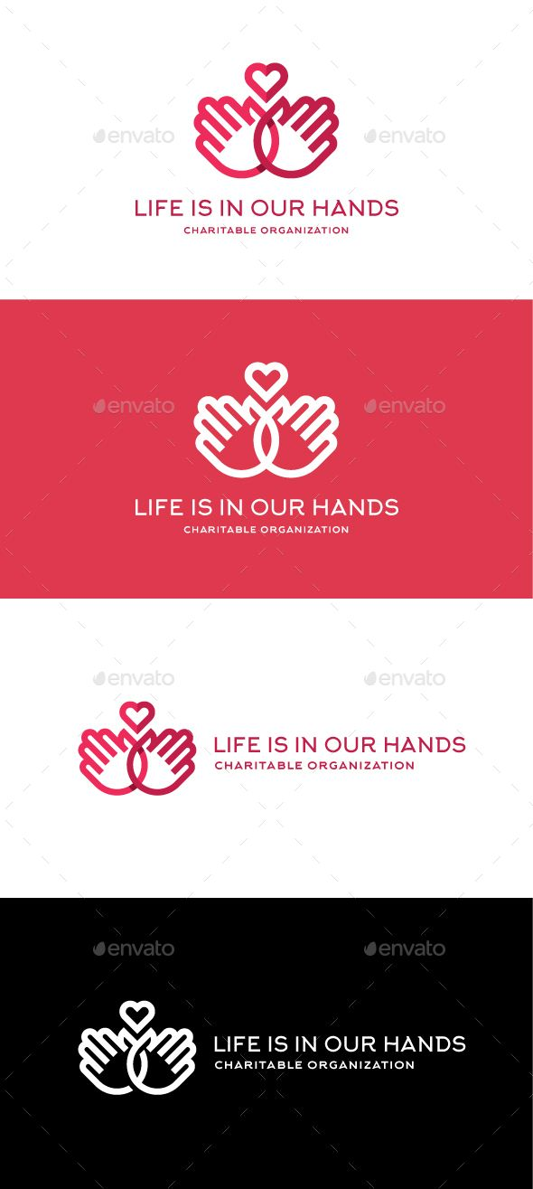 Life is in our hands Logo Template PSD, Vector EPS, AI #logotype Download: http://graphicriver.net/item/life-is-in-our-hands/14489464?ref=ksioks