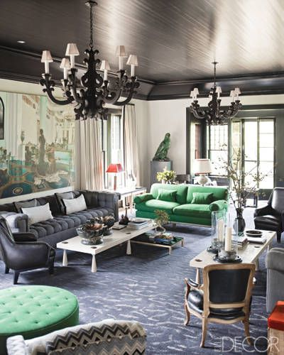 Pantone named Emerald the Color of the Year for 2013, but we're seeing all shades of greens and expect more in the future