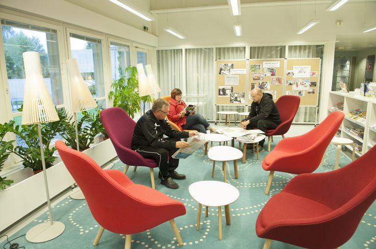 Ahtialan kirjasto / Kuva: Juha Tanhua