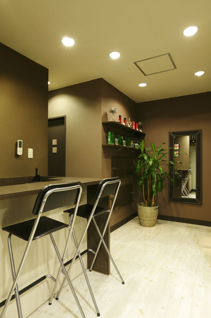 20 best beautiful hair salons images on pinterest hair for Interieur design salon