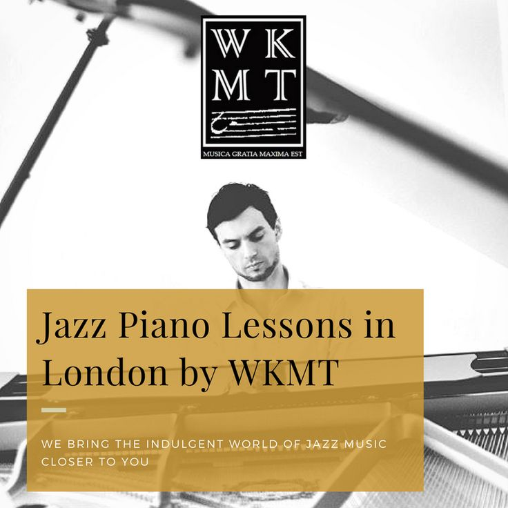 #Jazzpiano #jazzpianoteachers #jazzpianolessons by #WKMT  Do you love the sound of Jazz piano music? Would you like to turn yourself into an insider?  Don't hesitate in giving us a call on  442071014479 Monday to Sunday 9am to 9pm. We can help you organising your #triallessons  WKMT brings #jazzmusic closer to you :)  More info at http://www.piano-composer-teacher-london.co.uk/jazz-piano-lessons