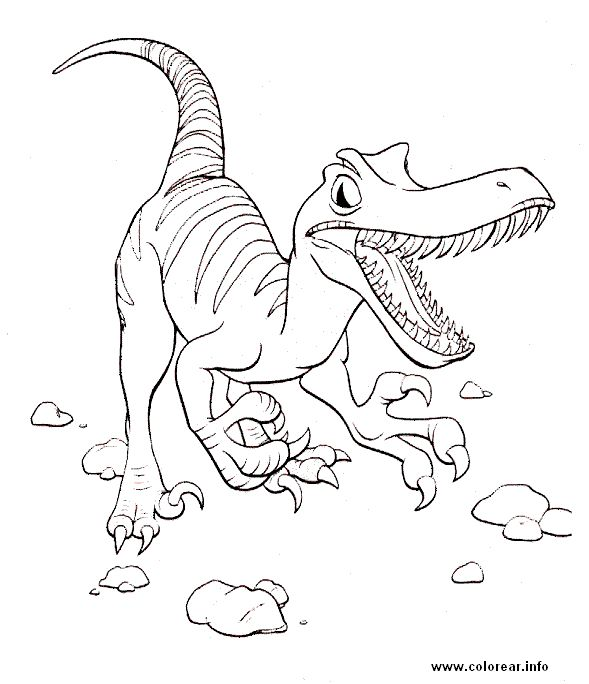 212 best dinosaurios images on Pinterest | Dinosaurs, Colouring in ...