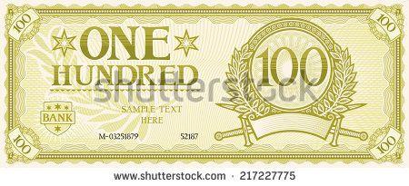 Banknote Stock Vectors & Vector Clip Art | Shutterstock