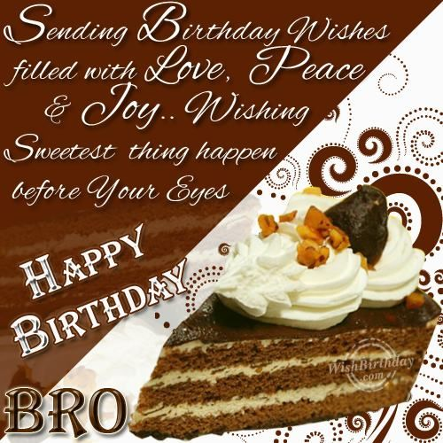 The 25 best Happy birthday brother wishes ideas – Birthday Greeting to Brother