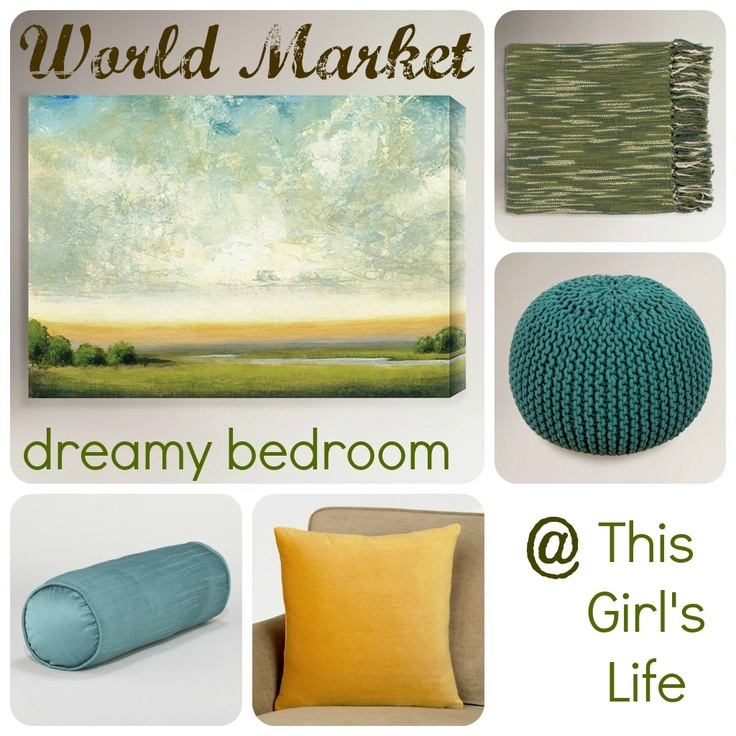 Head on over to the blog to see my dreamy bedroom makeover with World Market! @Cost Plus World Market @PollinateMedia    This Girl's Life: {Dreamy Bedroom with World Market}