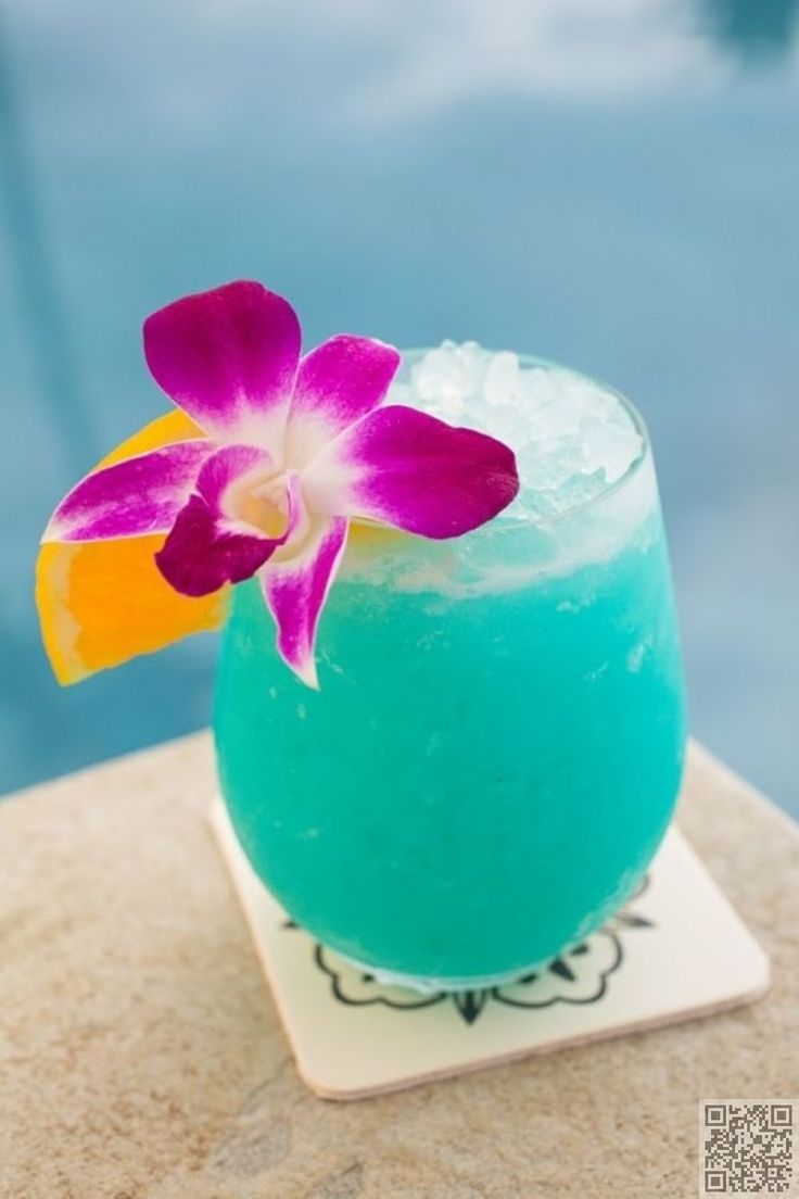 Cool Blue Hawaiian / 17 Fruity Alcoholic Drink Recipes to Try