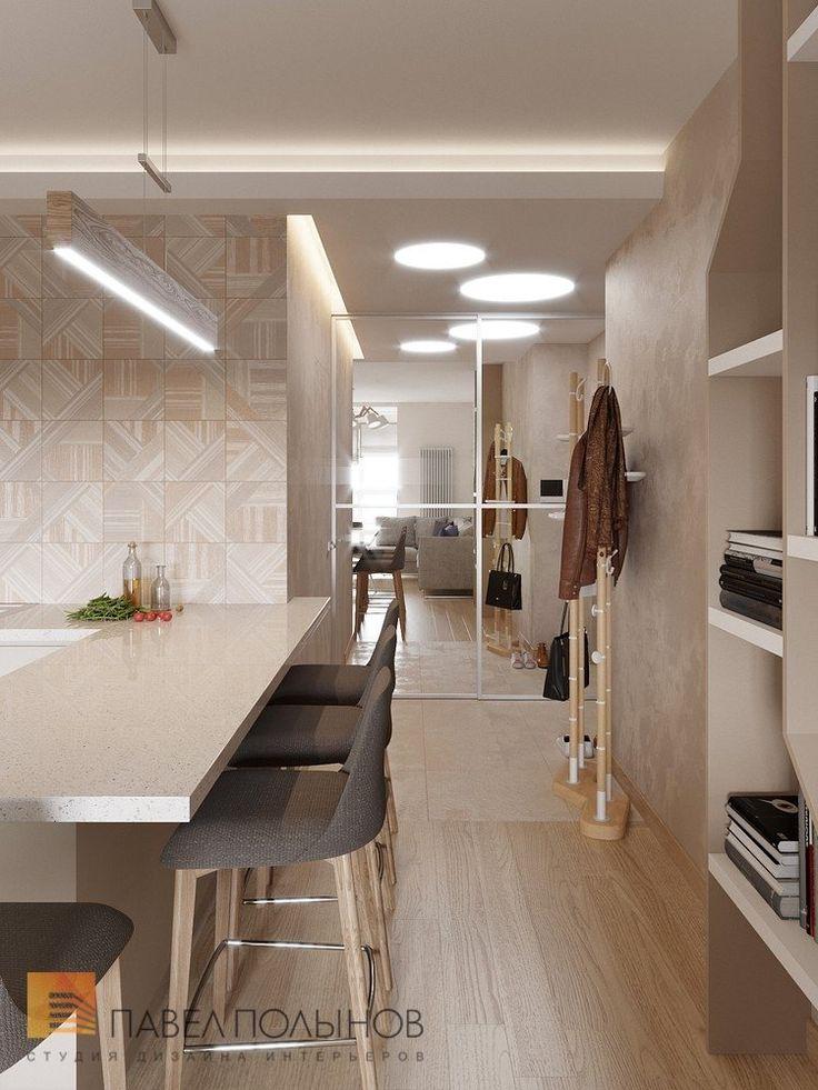 Фото коридор из проекта «Дизайн квартиры-студии в современном стиле, ЖК «Времена года», 34 кв.м.»