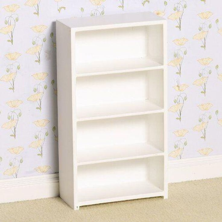 White Shelving Unit
