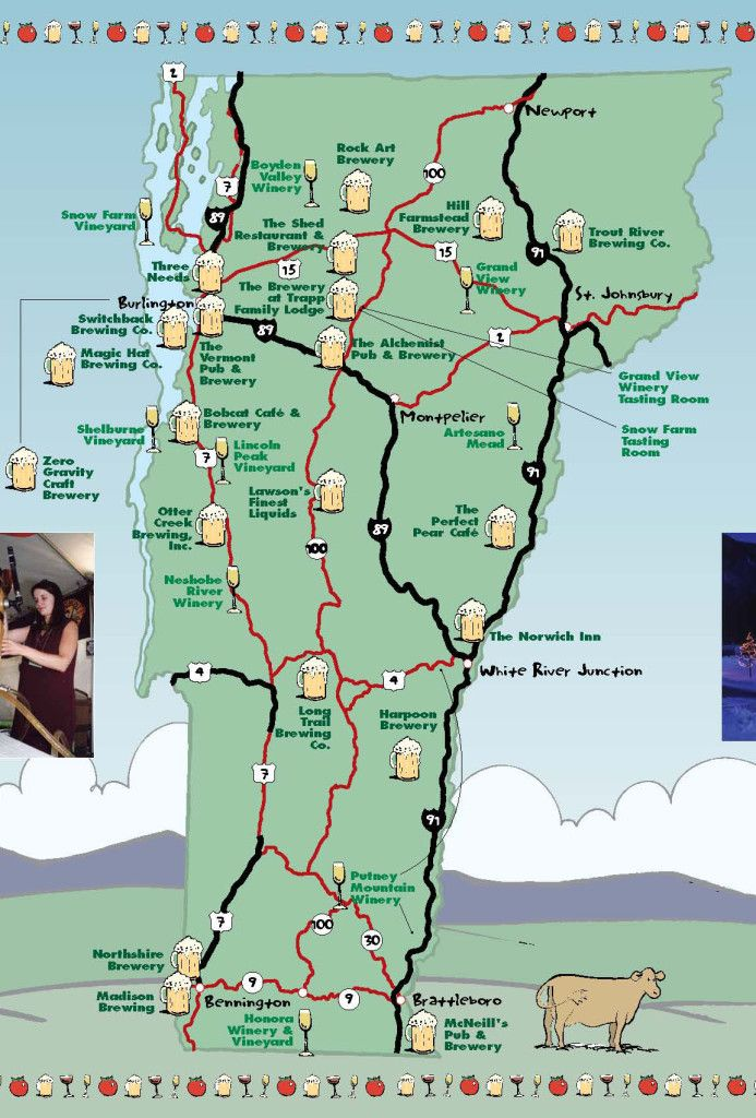 Bed and Breakfast Road Trip - BnB's along Vermont's Brewery Trail. New England Travel Tips