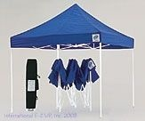 The ultimate tailgating tent. These E-Z Up Tents are 10'x10'. Perfect size for some lawn chairs and your game-day treats.