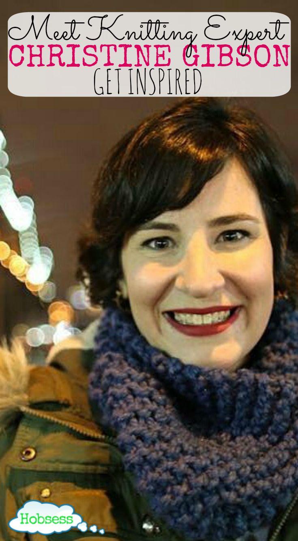 Meet Christine Gibson: Knitting Expert