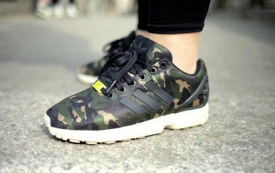 """Adidas ZX Flux """"Camo"""" tumblr: sneaker check"""