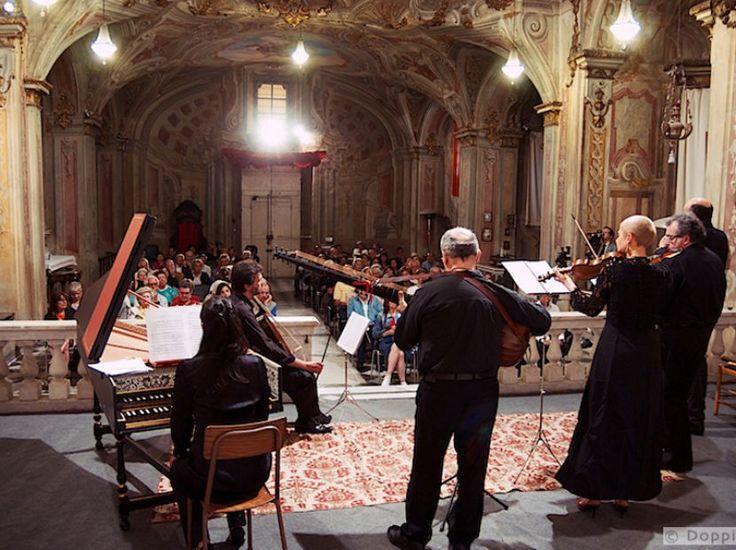 LIGURIA, OGNI VIA PORTA AL BAROCCO Continua fino a ottobre la rassegna musicale che unisce la Liguria nel nome della musica da camera