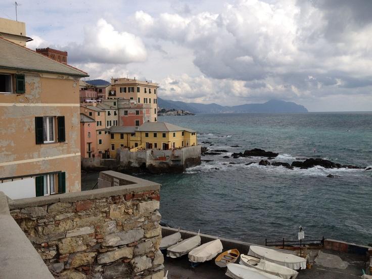 Boccadasse, Genova, Liguria - © Aurelio Muzzioli on facebook.com/turismoinliguria
