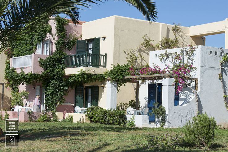 Exterior View of our bungalows at #zorbasvillage #crete #vitahotels #greece