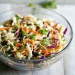Chinese Chicken Salad is an all-time favorite classic. This recipe has thin strips of cooked chicken breast, crunchy wonton strips and a sweet and tangy Chinese Chicken Salad dressing.