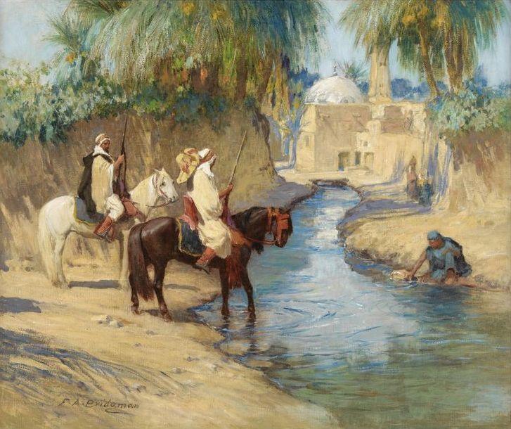 Frederick Arthur Bridgman - Return from the Hunt