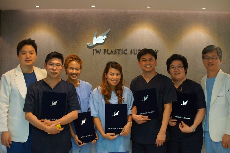 From 14th to 20th March 2014 5 doctors from Thailand were receiving training in JW Plastic Surgery Center.They are Dr. Adunchai Sangsert, Dr. Kulakarn Amonpattana, Dr. Paripa Eaemharit, Dr. Pattaya Tanthanatip and Dr. Vitusinee U-Dee.      jw_beauty@naver.com +82 10 7195 5114 www.jwbeauty.net