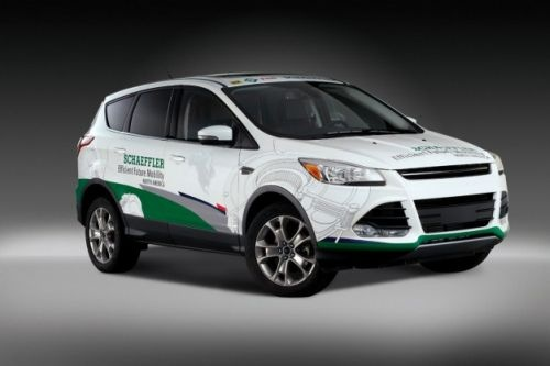 German Schaeffler Showcases Fuel-efficient Concept Car Made for India