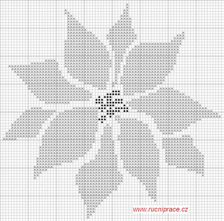 cross stitch patterns free printable | free cross stitch poinsettia pattern download free now information for ...