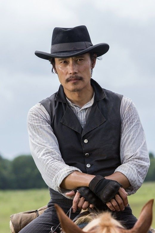 "Lee Byung Hun | Lee Byung Hun Is A Charismatic Cowboy For Hollywood Movie ""Magnificent ..."
