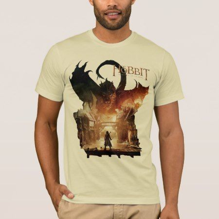 The Hobbit - Laketown Movie Poster T-Shirt - tap, personalize, buy right now!