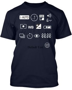 SPECIAL EDITION DSLR FUNCTIONS TEE!