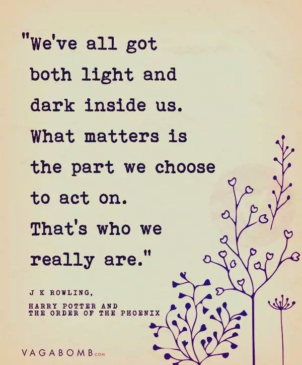 This is the ultimate truth. Most ppl choose to spread darkness.