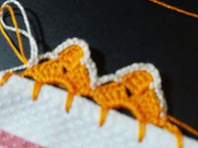 Filomena Crochet e Outros Lavores: - Bico de Crochet - Tutorial                                                                                                                                                                                 Mais