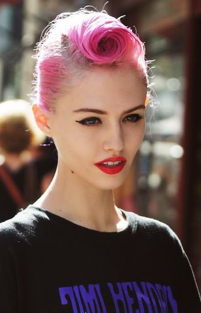 grafika hair, charlotte free, and model
