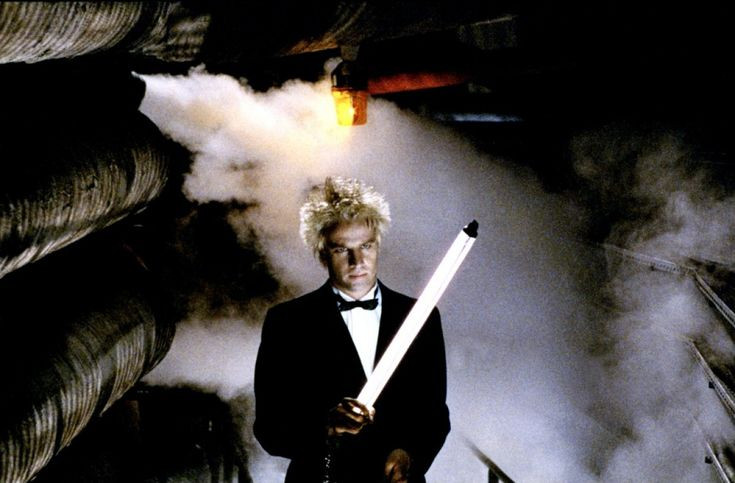 Christophe Lambert in Subway by Luc Besson, 1985 •