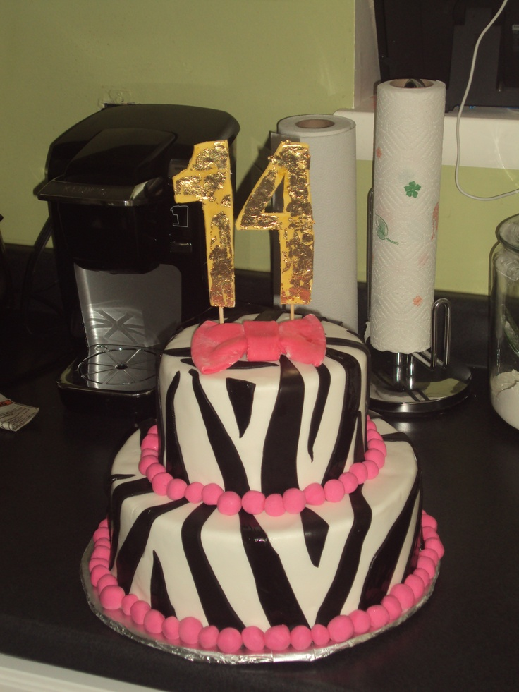 1000 Ideas About 14th Birthday Cakes On Pinterest Teen