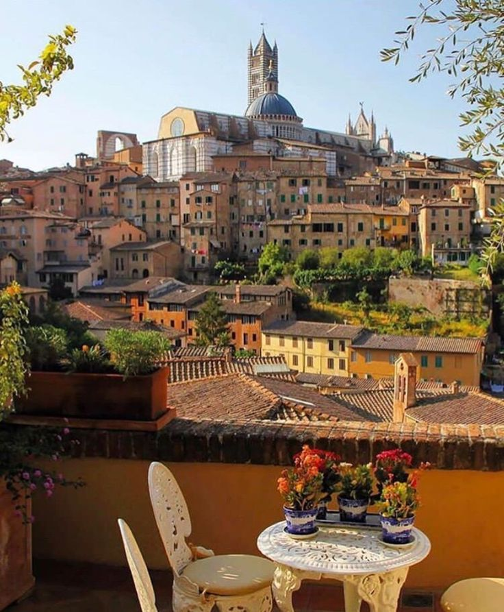 Siena - Tuscany (go, most specifically, to Palermo)