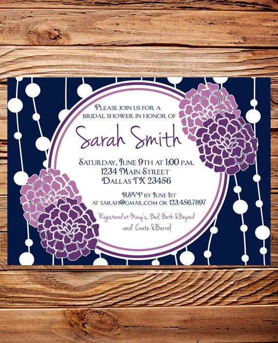 Bridal shower Invitation Bridal Shower Invite by StellarDesignsPro, $18.00