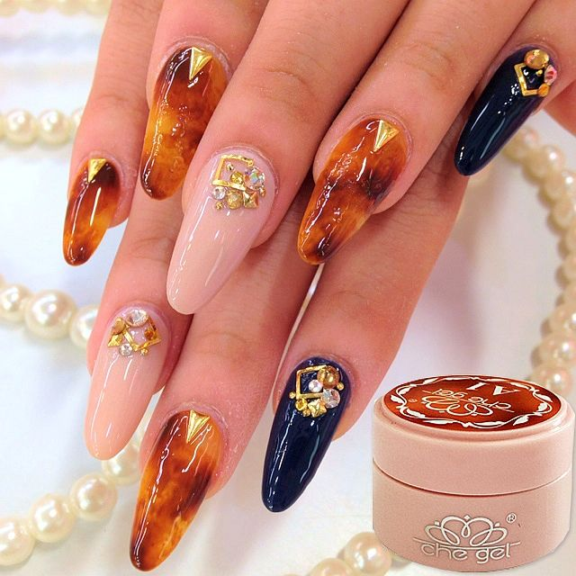 Nail Art  Amber Looks LED UV Nail Polish Gel Color Nail Art Decoration Beauty Tools Soak Off Nail Painting Gel-in Nail Gel from Beauty & Health on Aliexpress.com | Alibaba Group