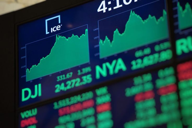 UNITED STATES – The US industrial index Dow Jones on Tuesday after a record fall the day before added a little more than 567 points (2.33%), reaching 24,912 points. This is evidenced by the data of the New York Stock Exchange on the basis of the trading session. On Monday, the index hit a...