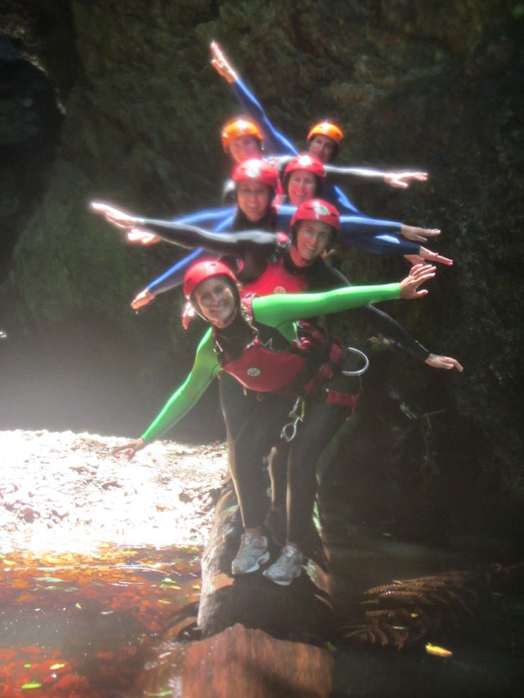 Canyoning Fun in the Kloof…