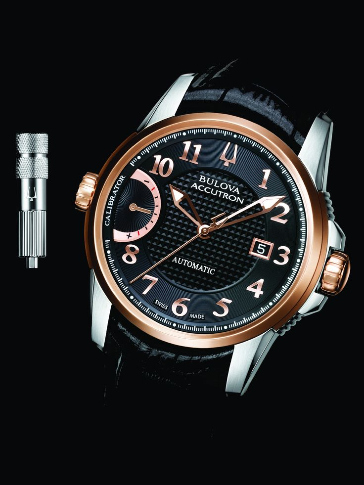 BULOVA ACCUTRON Calibrator 65B148 watch by Bulova on www.presentwatch.com