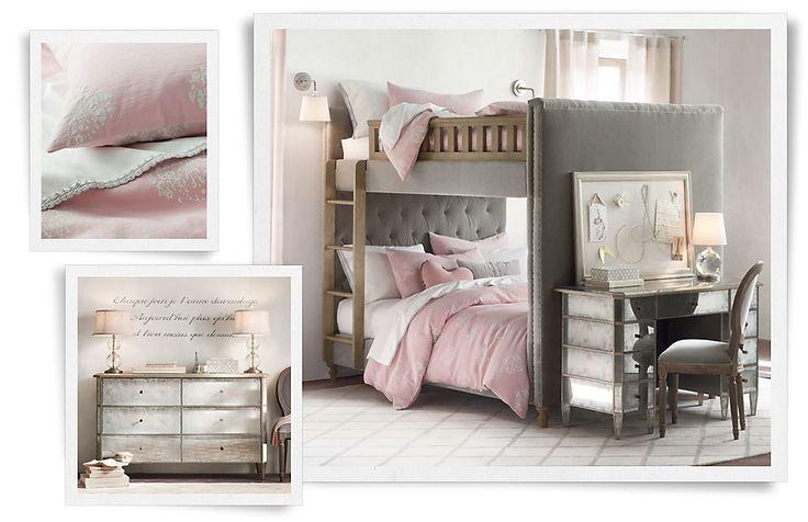 110 beste afbeeldingen van ideetjes meiden tienerkamer - Roze meid slaapkamer ...