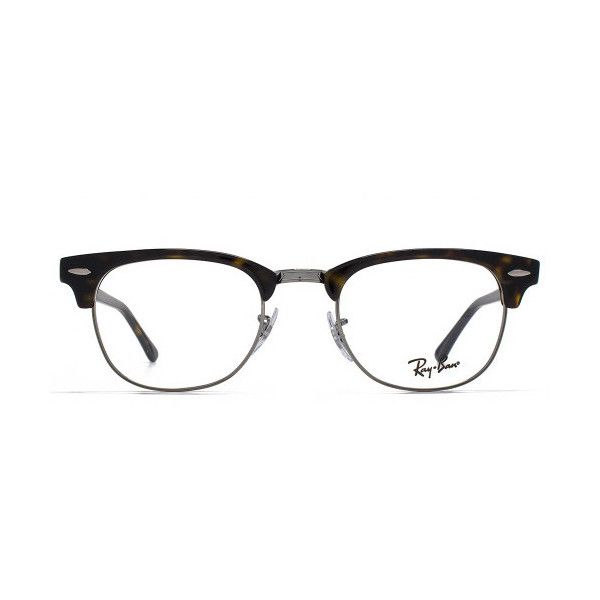 2c1813d296f7 spain ray ban rx5154 clubmaster glasses 130 liked on polyvore featuring  accessories d1c61 4b031