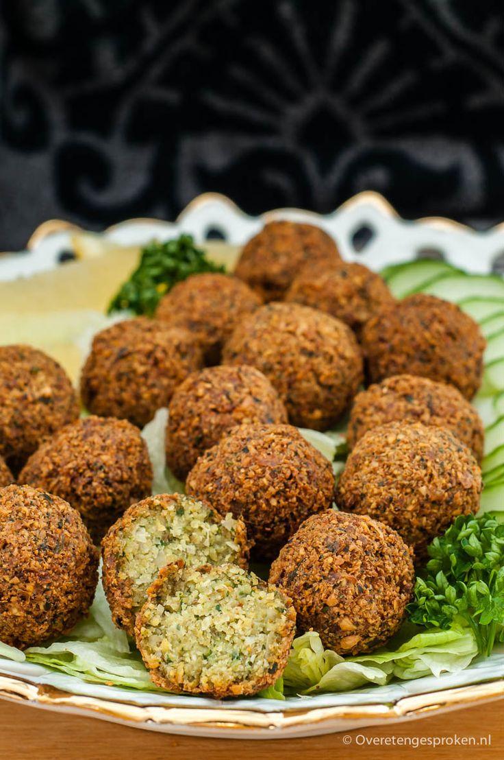 Falafel - Vegetarische snack uit het Midden-Oosten op basis van kikkererwten.