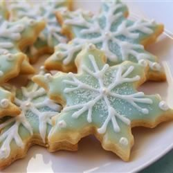 The best Sugar Cookie Icing (as per reviews- 4 teaspoons milk, 1 teaspoon vanilla extract, 1 tablespoon corn syrup)