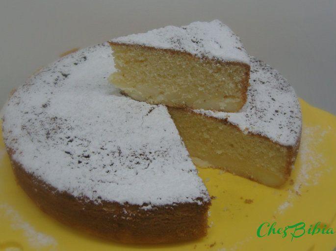 Torta+con+crema+pasticcera+nell'impasto