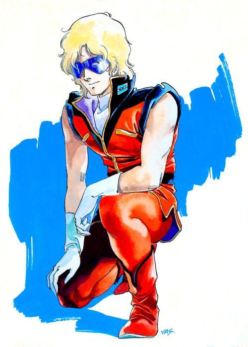 onyomugan3:  クワトロ・バジーナ 安彦良和