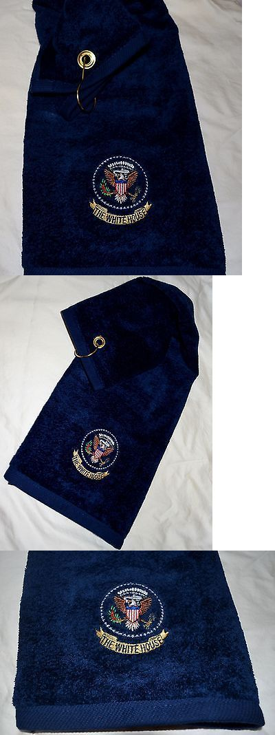 Golf Towels 18932: Trump Presidential Seal Golf Towel~White House Issue~ Only Official One On Ebay -> BUY IT NOW ONLY: $54.5 on eBay!