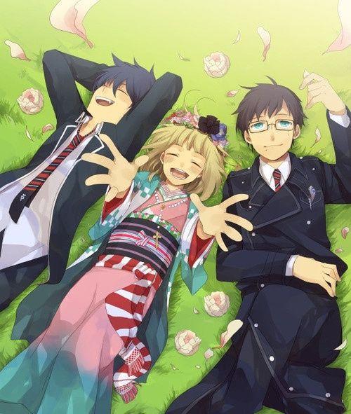 Rin, Shiemi & Yukio