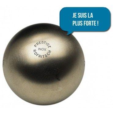 Boules de pétanque Prestige Inox 110