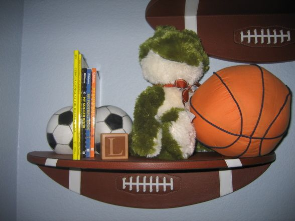 sports nursery ideas | Sports Nursery, This is my younger son's nursery. I ordered a custom ...