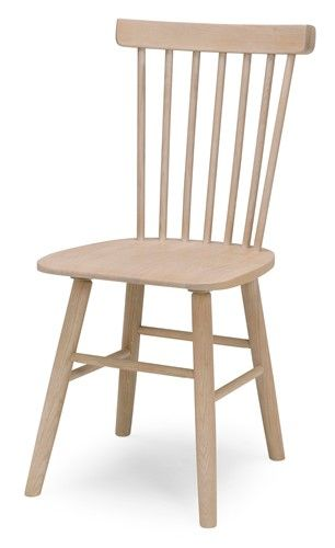Orust stolar/stol - massiv vitoljad ek - Svenska Hem