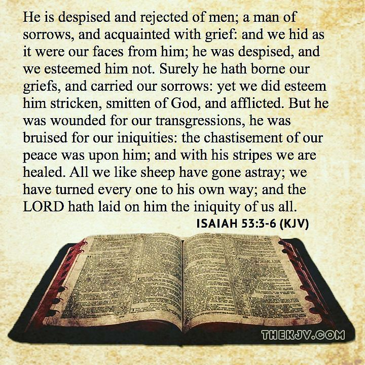 healing scriptures king james version Following is the miracle prayer story of king hezekiah's healing-2 kings 20:1-11 (king james version) 1 in those days was hezekiah sick unto death in those days was hezekiah sick unto death and the prophet isaiah the son of amoz came to him, and said unto him, thus saith the lord, set thine house in order for thou shalt die, and not live.